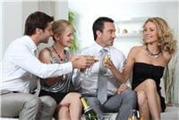 l'alcool agit sur le foie et ralentit la digestion.