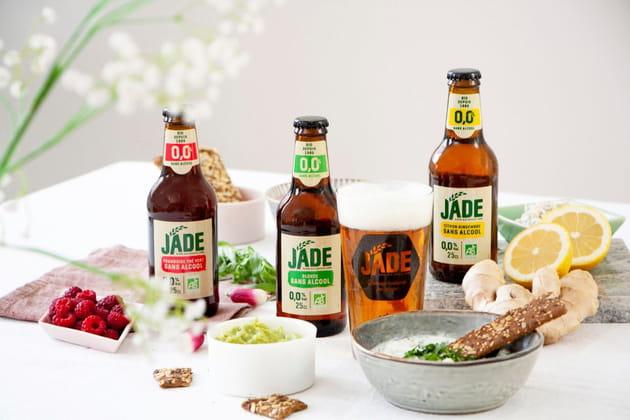 Les bières bio de Jade