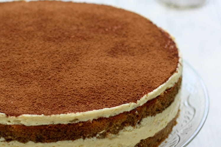 Tiramisu en version gâteau