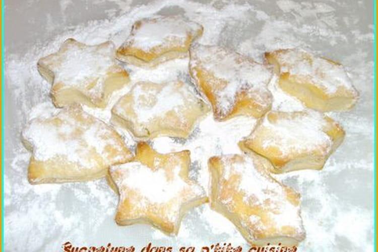 Biscuits sablés au citron vert enneigés