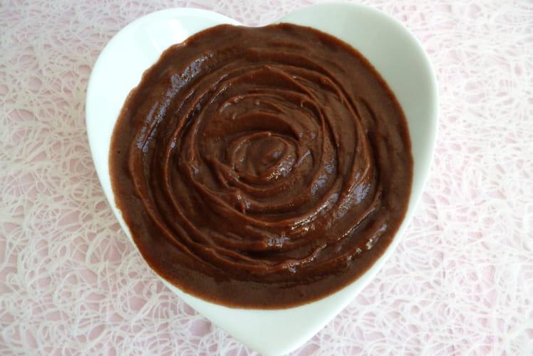 Crème dessert allégée au cacao et au konjac