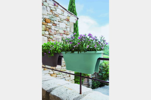 jardini re de balcon corsica flower bridge chez jardiland. Black Bedroom Furniture Sets. Home Design Ideas