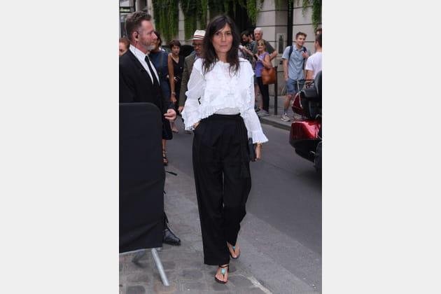 Emmanuelle Alt chez Givenchy