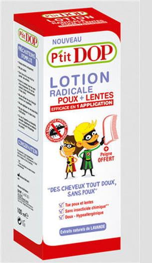 lotion poux + lentes, 100 ml, 9,95 euros, à partir de 3 ans.