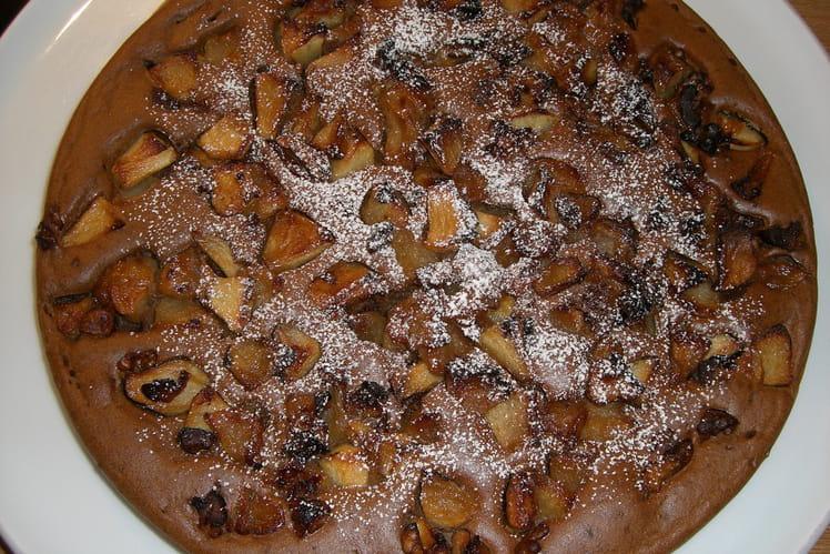 Gâteau aux pommes, speculoos et tofu soyeux