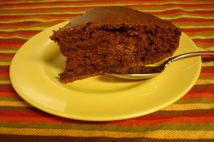 Gâteau au chocolat au tofu