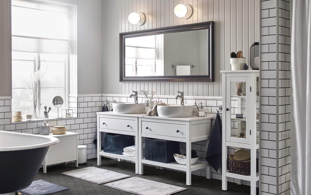 Les 20plus belles salles de bains IKEA pour s'inspirer