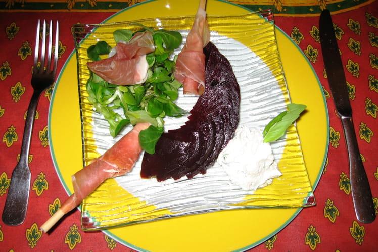 Salade italienne à la ricotta