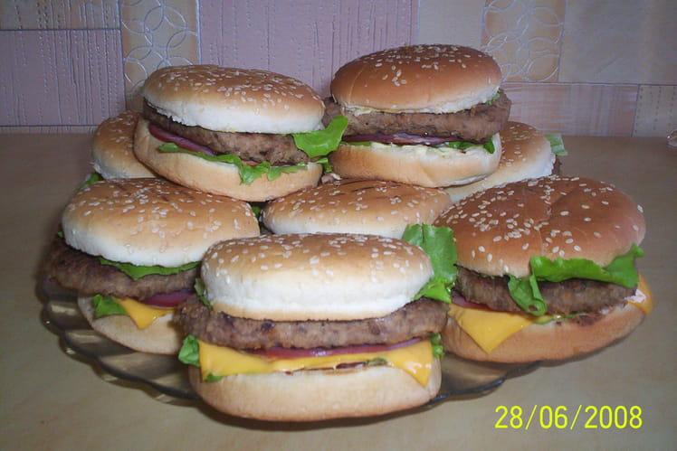 Hamburger fait maison
