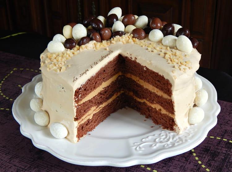 Recette De Gateau De Paques Au Chocolat Rhum Cafe Et Chantilly