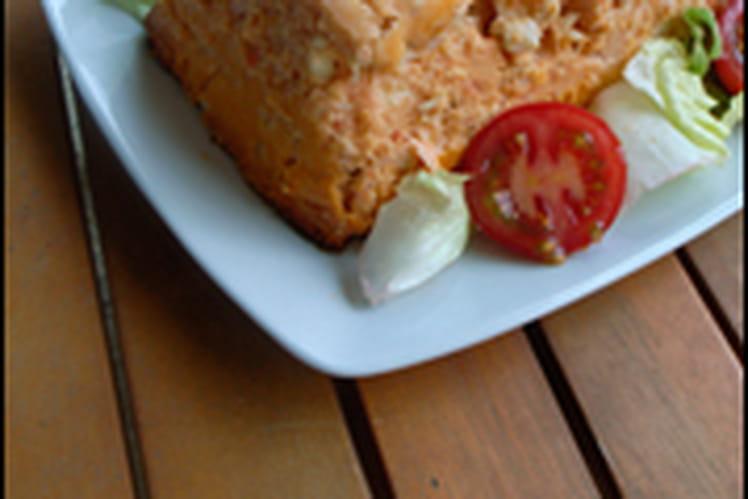 Terrine de poissons à la tomate