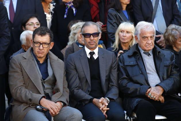 Dany Boon, Paul Belmondo et son père Jean-Paul Belmondo