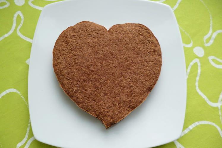 Gâteau cacao coco avec AlcaMatin