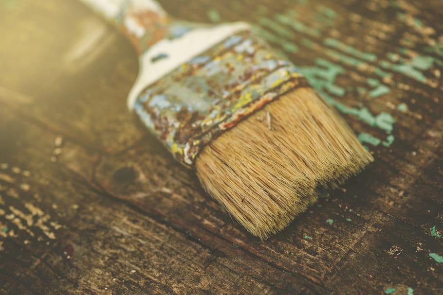 Peinture : trucs et astuces pour ses pinceaux