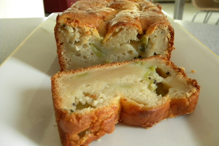 Cake aux pommes et kiwi