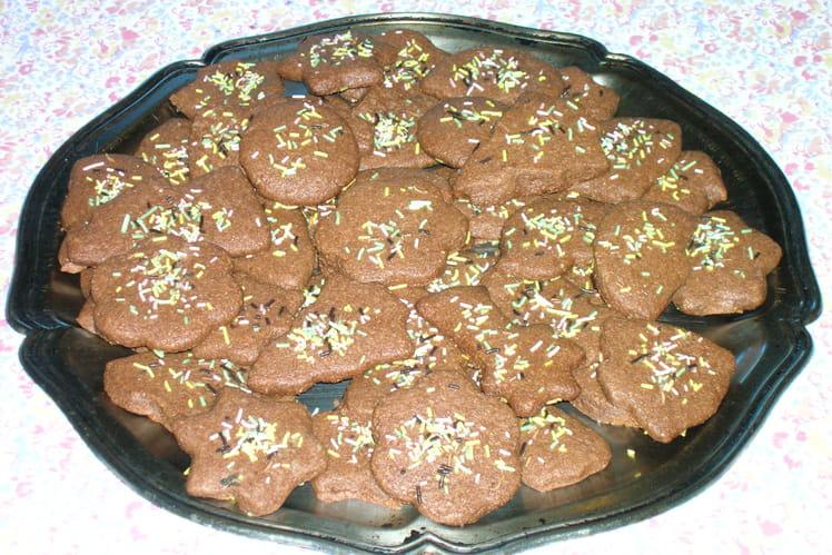 Sablés cacao - noisettes