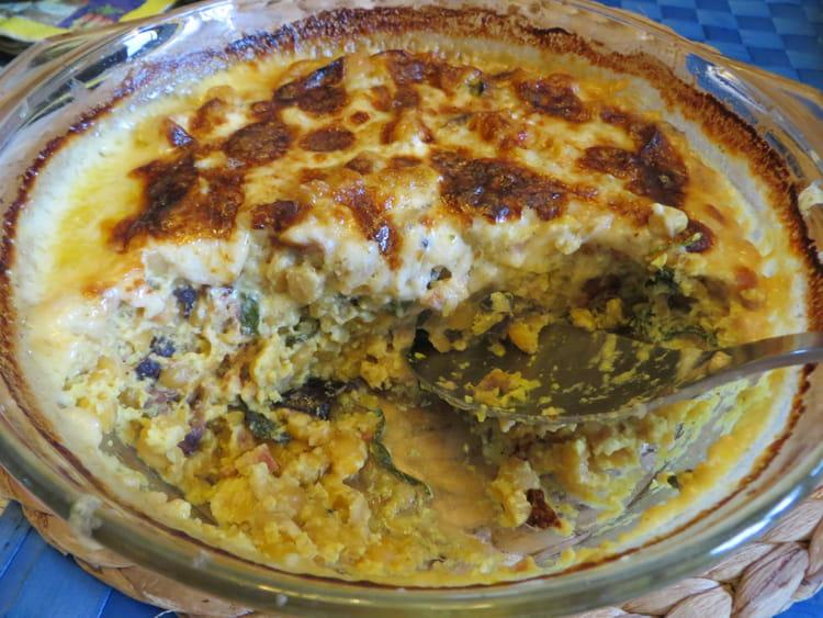 Recette de gratin de pois jaunes cass s la recette facile - Cuisiner un jambonneau ...