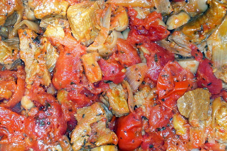 Veau marengo aux champignons