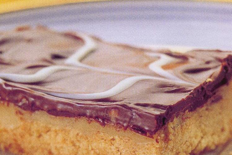 Sablé au caramel et au chocolat