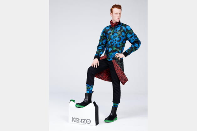Kenzo X H&M, look 26