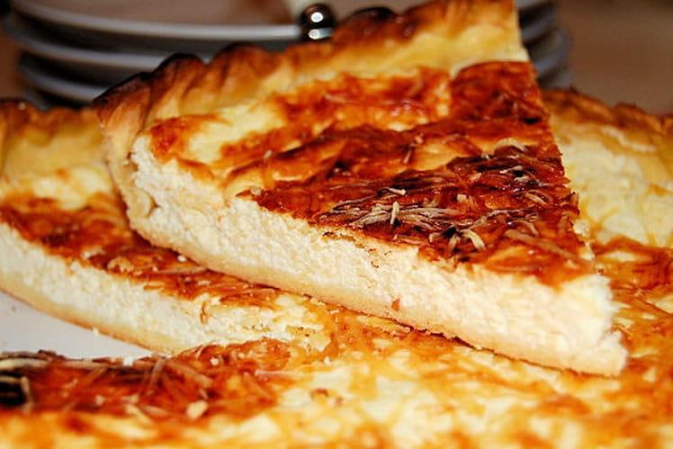 Tarte légère aux trois fromages