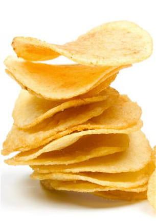 les chips.
