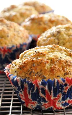 muffins citron pavot et lait ribot