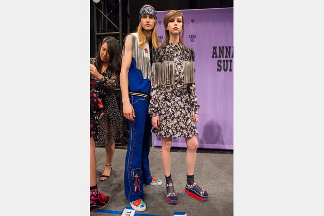 Anna Sui (Backstage) - photo 20
