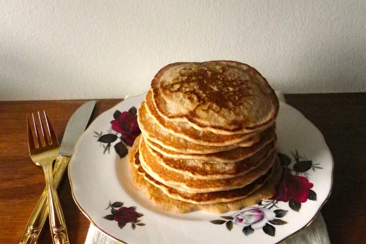 Pancakes à l'épeautre et à la noisette