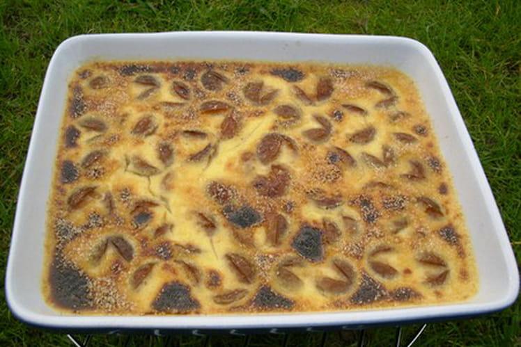 Crème brûlée mirabelle-bergamote