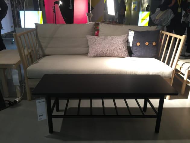 Canapé et table basse Björksnäs