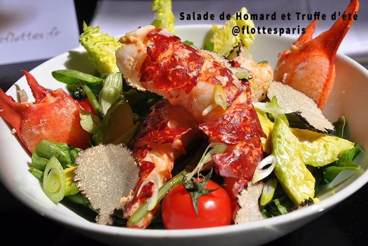 Salade de Homard et Truffe d'été