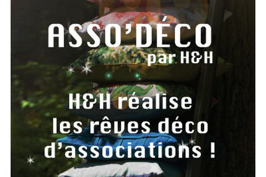 H&H colore la déco des associations