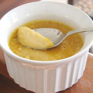 petits pots de crème caramel-coco-rhum