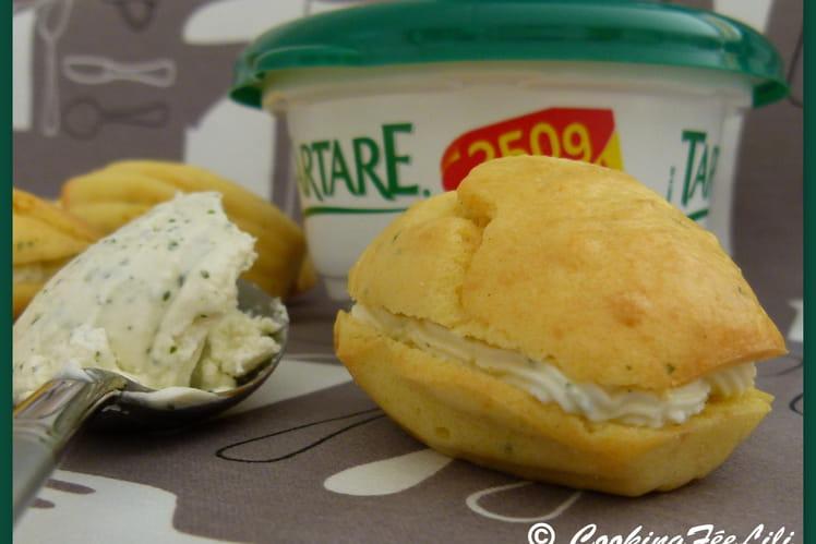 Mini madeleines au Tartare