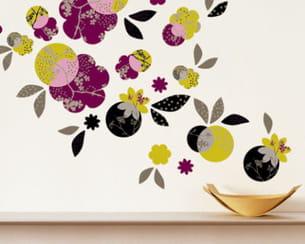 sticker 'bouquet' de nathalie pineau chez nouvelles images