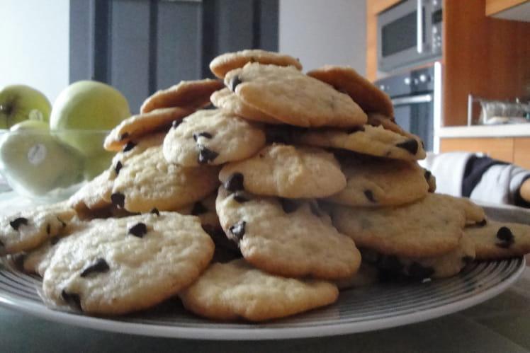 Cookies au sucre de canne et pépites de chocolat