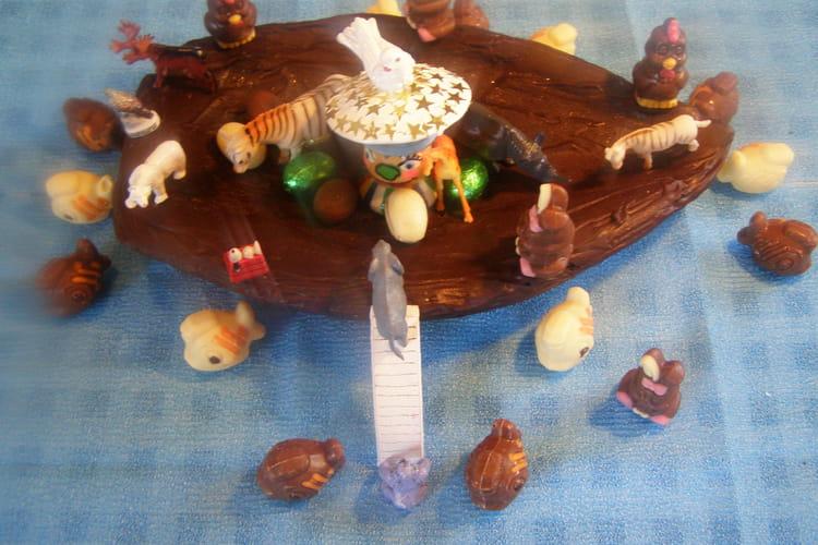 L'Arche de Pâques en chocolat