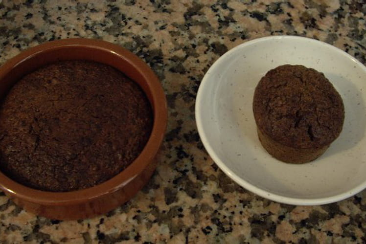 Mini-muffins chocolat et fruits secs