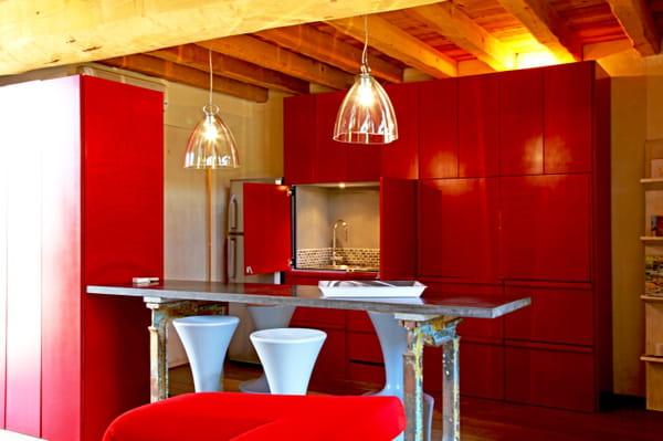 6 solutions pour ouvrir la cuisine. Black Bedroom Furniture Sets. Home Design Ideas