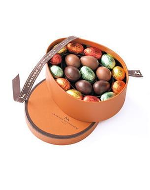 coffret petits œufs la maison du chocolat