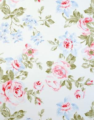papier peint 'belle fleur' de rasch