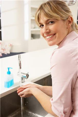 se laver les mains réduit significativement les infections.