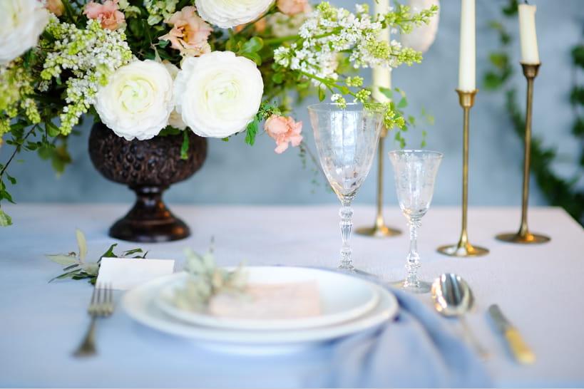 Comment composer votre menu de mariage?