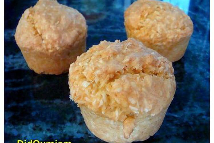 Mini-muffins coco et tofu