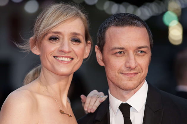 James McAvoy et Anne-Marie Duff