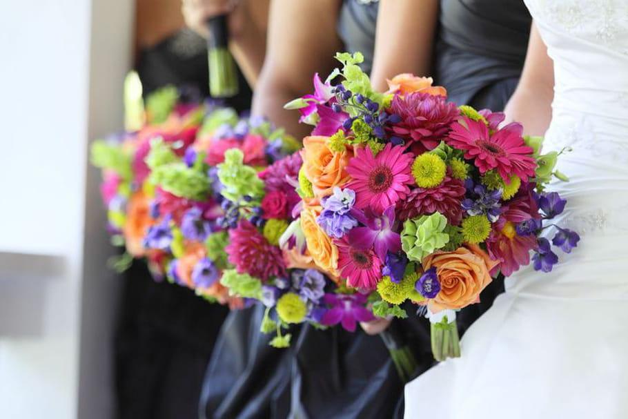 Mariage chromatique : un thème haut en couleur !