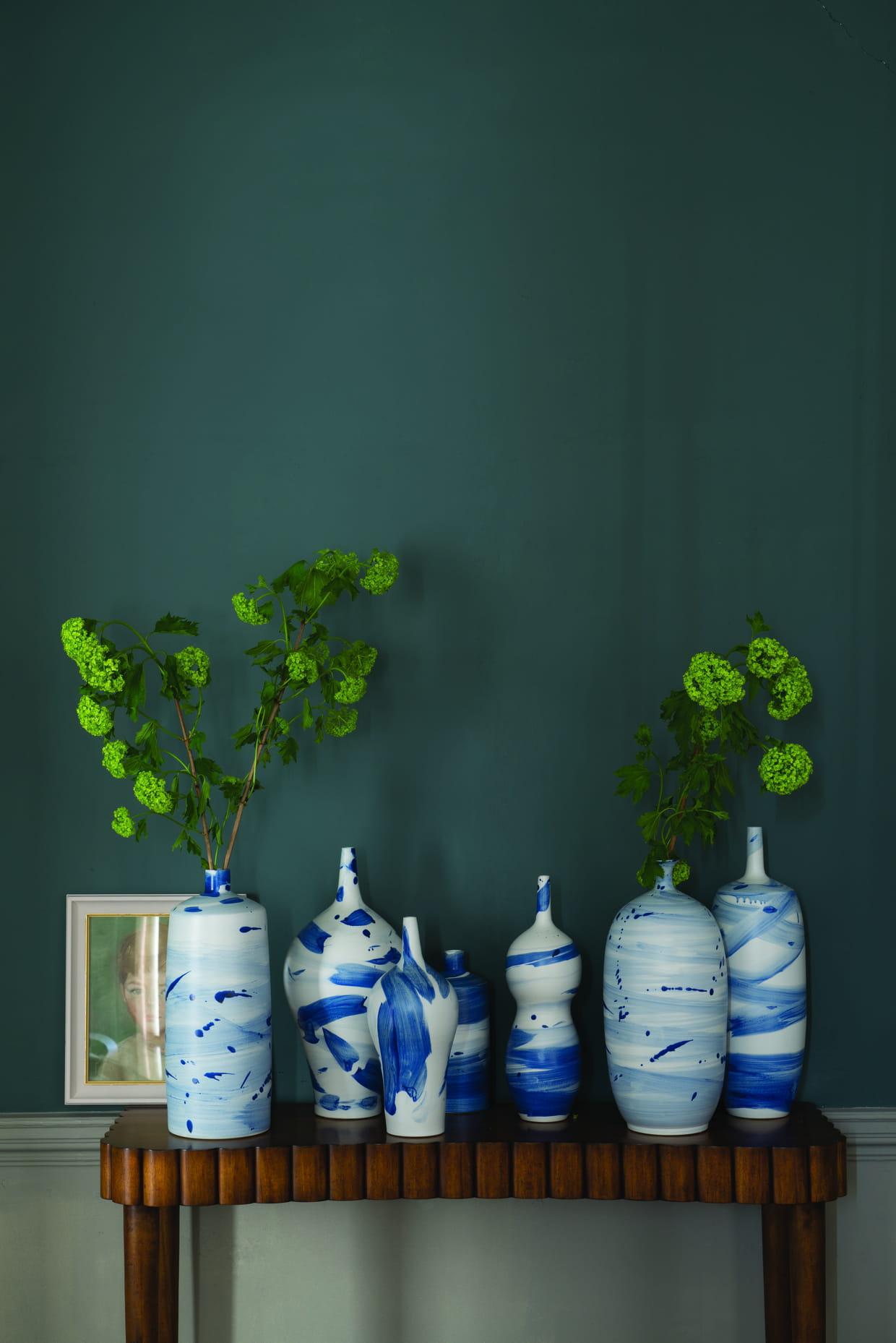 Peinture inchyra blue par farrow ball - Bleu farrow and ball ...