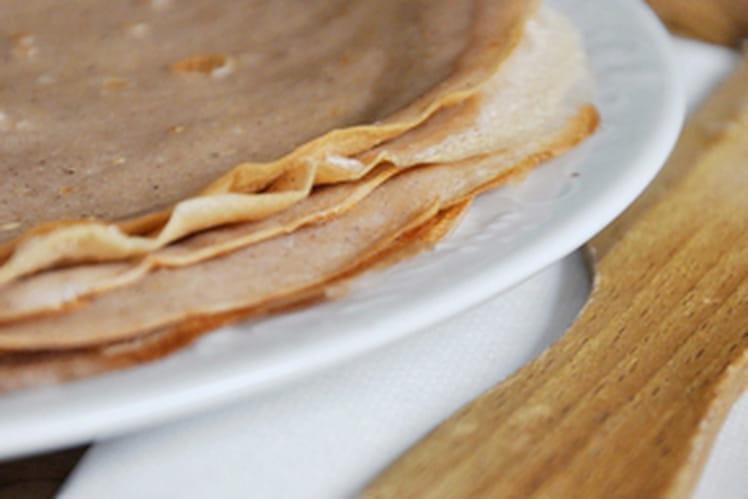 Crêpes légères à la farine de châtaigne