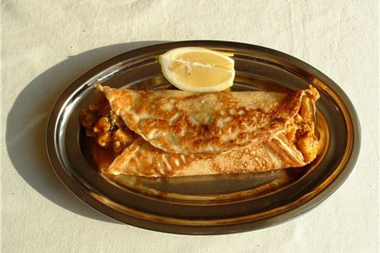 Fajitas au poulet mariné et guacamole